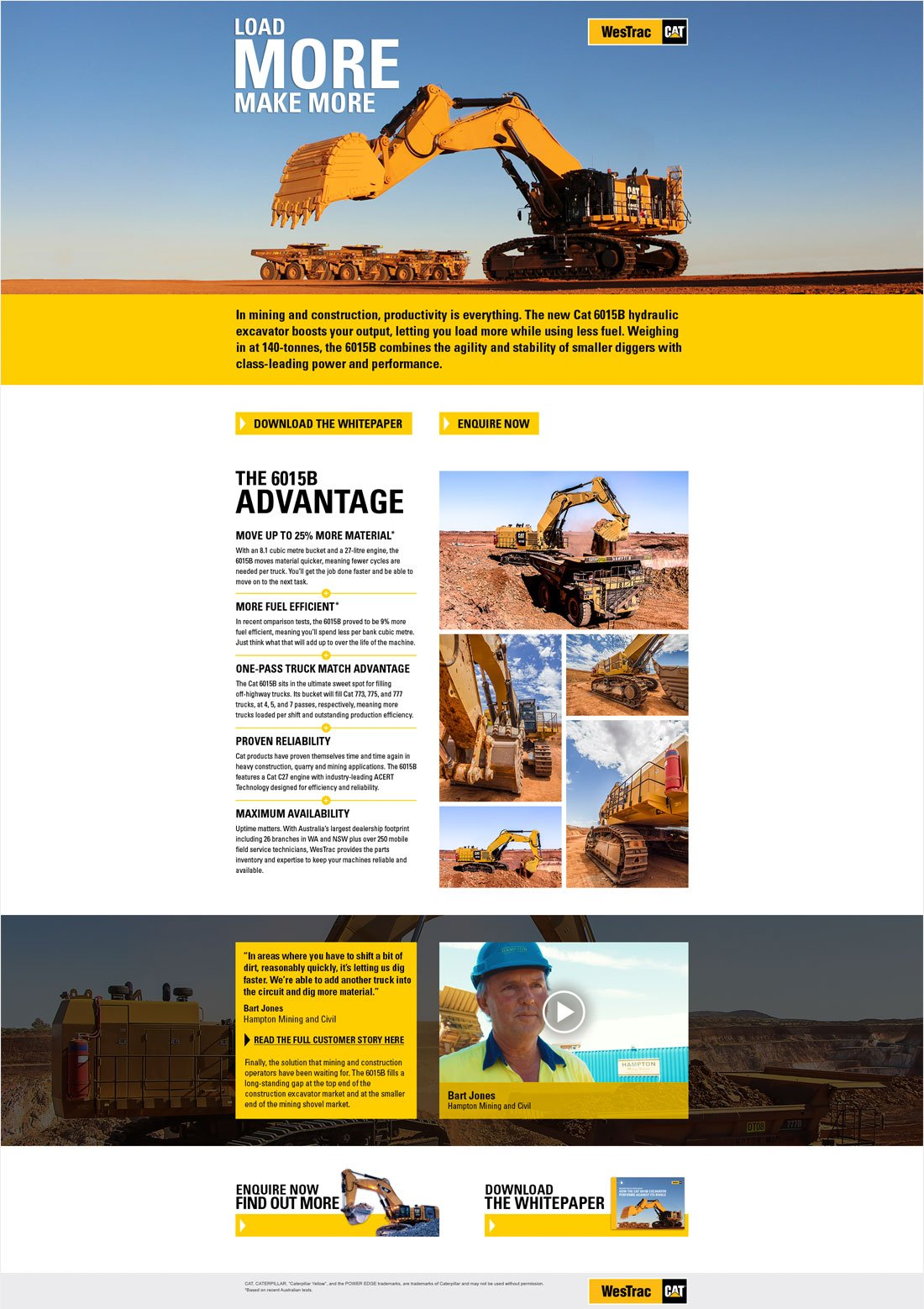 Westrac-landing-page