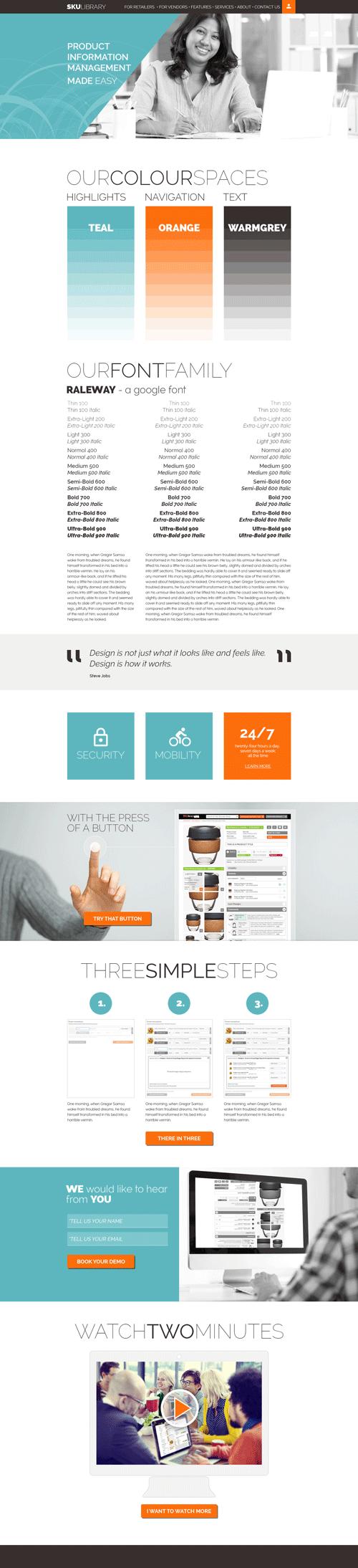 SKU-website-moodboard